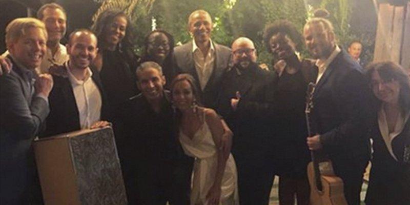 Obama y Michelle cenan en un asador madrileño y disfrutan con Pitingo