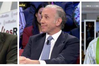 """Losantos hiela la sangre de Inda y Pedrojota por publicar las filtraciones de Villarejo: """"Son la voz de las cloacas"""""""