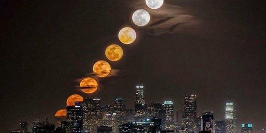 11 lunas en 28 minutos