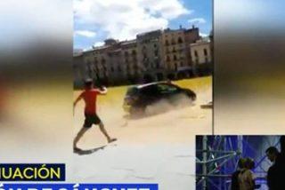 """Por fin alguien en 'Espejo Público' le calla la boca a una repelente independentista: """"¡Querer quitar las cruces amarillas también es libertad ideológica!"""""""