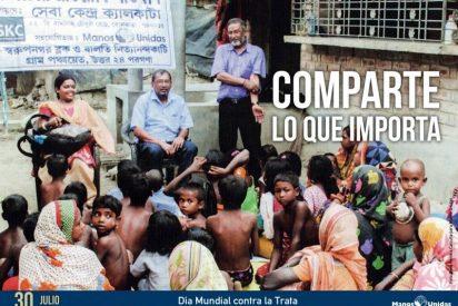 "Manos Unidas exige abolir la ""esclavitud moderna"" de la trata"