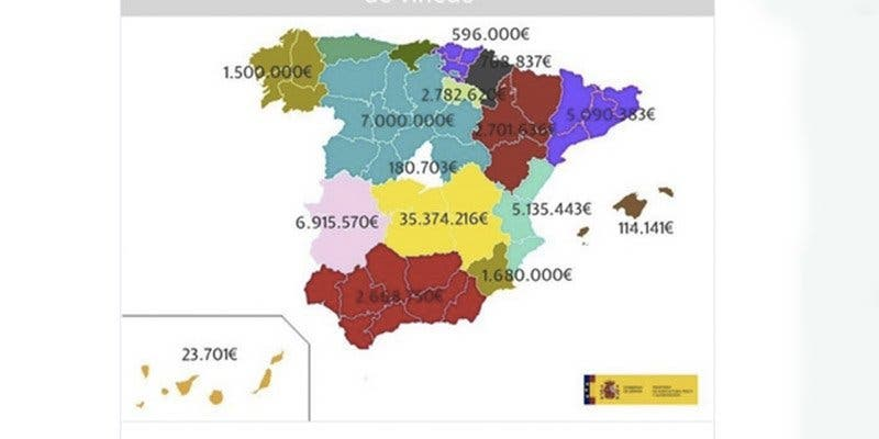 El Ministerio de Agricultura responde con soberbia tras su penoso patinazo con el mapa de España