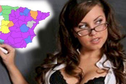Los 10 mapas de España que seguro nunca te enseñaron en el colegio