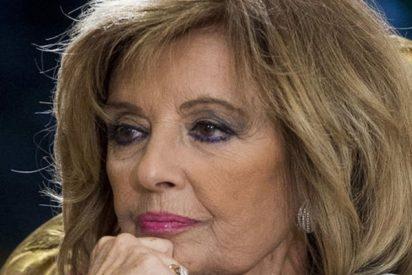 María Teresa Campos no logra controlar sus lágrimas por Terelu