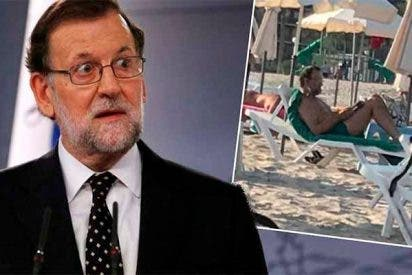 ¿Se dedica Mariano Rajoy a ligar en la playa en lugar de trabajar en el registro?