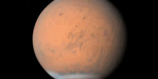 Así se ve la gigantesca tormenta de polvo que dejó Marte a oscuras
