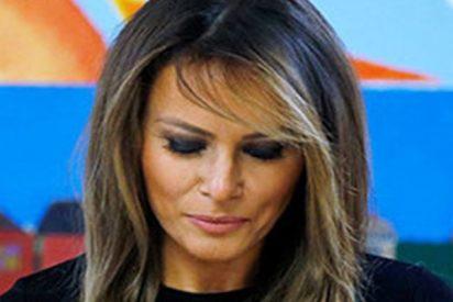 Así reacciona Melania Trump ante la foto de un niño inmigrante abandonado