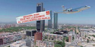 Pedro Sánchez se va en avión oficial a un concierto y las redes arden