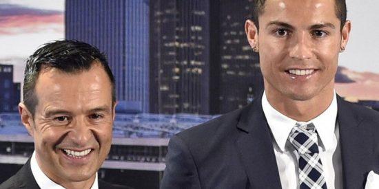 El Real Madrid echa la culpa a Mendes de la salida de Cristiano Ronaldo