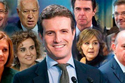 ¿Amigos para siempre?: Los ministros más emblemáticos de Mariano Rajoy comen con Pablo Casado a dos días de la votación