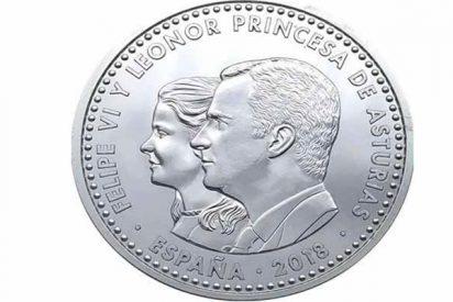 Te va a costar reconocer a la princesa Leonor en su moneda oficial