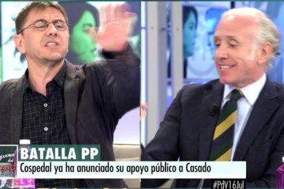 """Inda y Monedero: """"Eres del partido de Maduro, que asesina gente en la calle"""""""