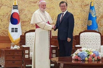 """El presidente surcoreano agradece al Papa su mensaje de """"paz y unidad"""" para la península"""