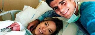 Gemelos: Álvaro Morata y Alice Campello, convertidos en padres y por partida doble