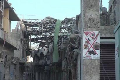 Así viven entre ruinas os residentes de la ciudad iraquí de Mosul tras un año de la liberación