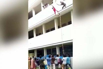 Esta joven estudiante muere al caer de un tercer piso durante un simulacro