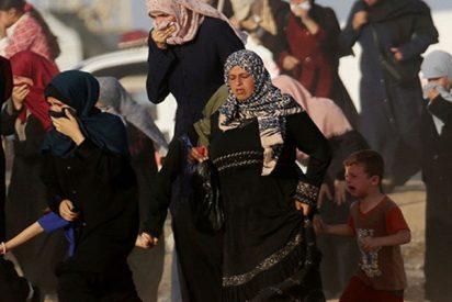Más de una docena de heridos en una protesta de mujeres palestinas en la Franja de Gaza