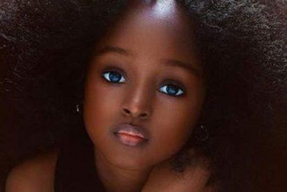 Esta niña nigeriana la más guapa del mundo, según las redes