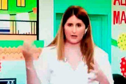 Una periodista experta en Casas Reales entra en pánico en directo y huye presa de los nervios