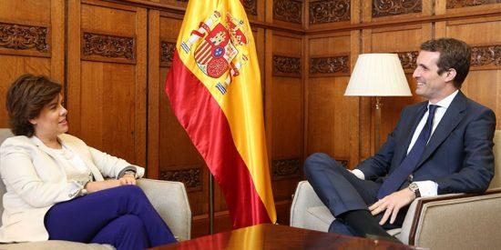 Santamaría declara la guerra a Casado