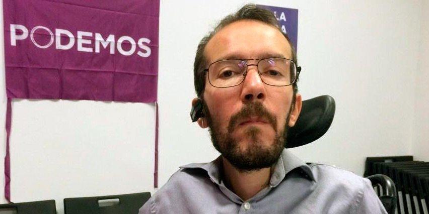 """La cagada de Echenique: pide censurar a los medios que venden que """"Podemos es una mierda"""""""