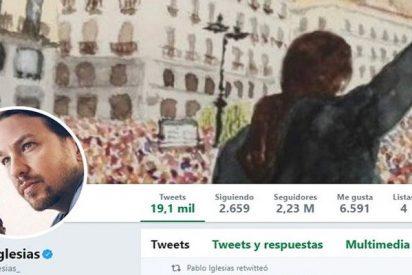 ¿Sabías que Pablo Iglesias es el político español con más seguidores falsos en Twitter?