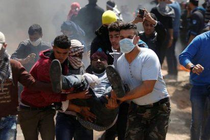 Un palestino muerto y 400 heridos en choques con el ejército israelí