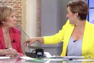 """Choque de trenes entre Celia Villalobos y Cristina Pardo: """"Si no hubiera corrupción en el PP, no tendrías tú un programa"""""""