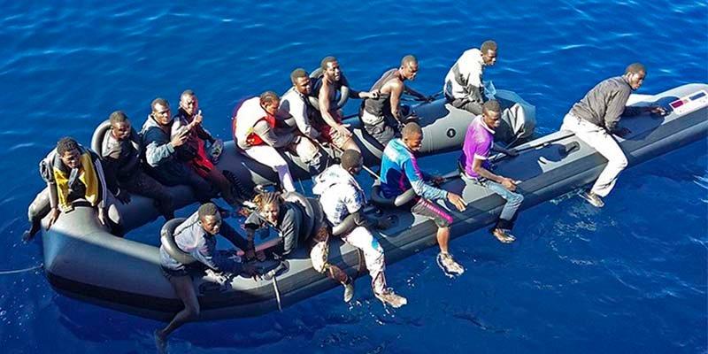 España supera ya a Italia en llegadas de migrantes que cruzan desesperados el Mediterráneo