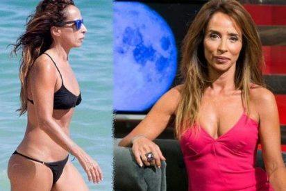 Sálvame' muestra las imágenes más comprometidas de María Patiño en la playa: ¿Por qué la tratan peor que a Carlota Corredera?