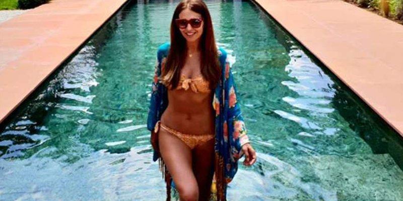 Paula Echevarría luce tipazo en Marruecos