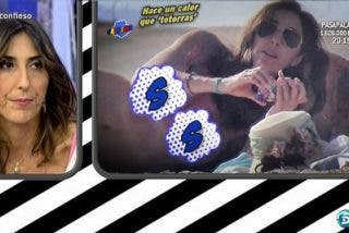 'Reaparecen' las fotos en topless de Paz Padilla que han vuelto loca a la presentadora