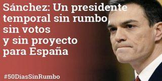Ciudadanos le hace un traje al 'posturas' Pedro Sánchez: 50 tuits valen más que mil palabras