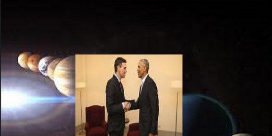 """Manuel del Rosal: """"Pedro Sánchez con Obama: ¡Cuidado! Estamos en conjunción planetaria!"""""""