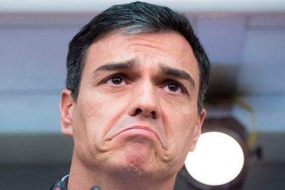 Esta es la apretada agenda veraniega del vago de Pedro Sánchez mientras caen chuzos de punta