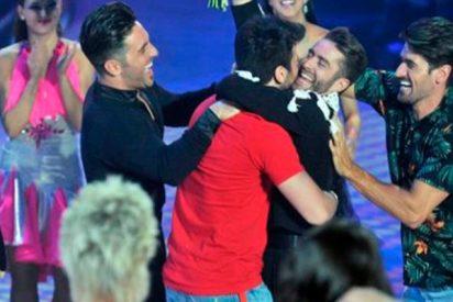 Pelayo Díaz recibe por sorpresa a su futuro marido el día de su expulsión en Bailando con las Estrellas