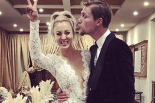 Así fue el 'no vestido' de boda de Penny, de 'The Big Bang Theory'