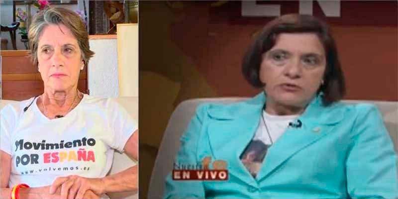 Esta es Pilar Gutiérrez, la franquista 'con un par' que se ha convertido en la gran 'estrella' de las tertulias de TV