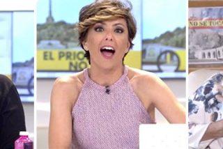 La portavoz franquista deja atónitos una vez más a los de Telecinco y con una cara de alucine total a Mayka Navarro
