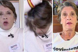 La portavoz franquista Pilar Gutiérrez podría ir a 'Sálvame' en cualquier momento y a nadie le debería extrañar