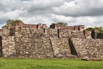Brutal terremoto deja al descubierto un templo escondido en una pirámide en México