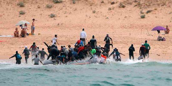 Inmigración ilegal, derechos humanos