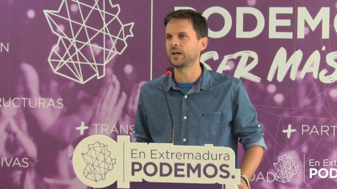 Los diputados extremeños de Podemos quieren cobrar 2.800 euros mensuales cuando vayan al paro