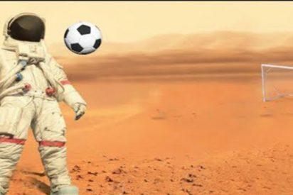 ¿Podrías jugar al fútbol en Marte?
