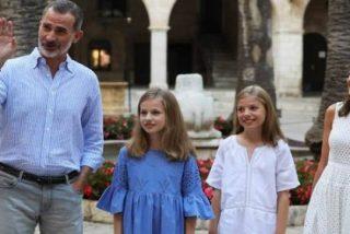 """El lamento del Rey Felipe VI en Mallorca: """"Mi padre quería venir pero está fastidiado"""""""