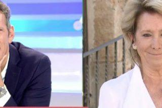 Joaquín Prat va de entrevistador agudo a 'pillar' una rajada de Esperanza Aguirre y sale trasquilado