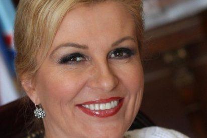 Kolinda Grabar-Kitarovic, presidenta de Croacia, gana el Mundial de la simpatía