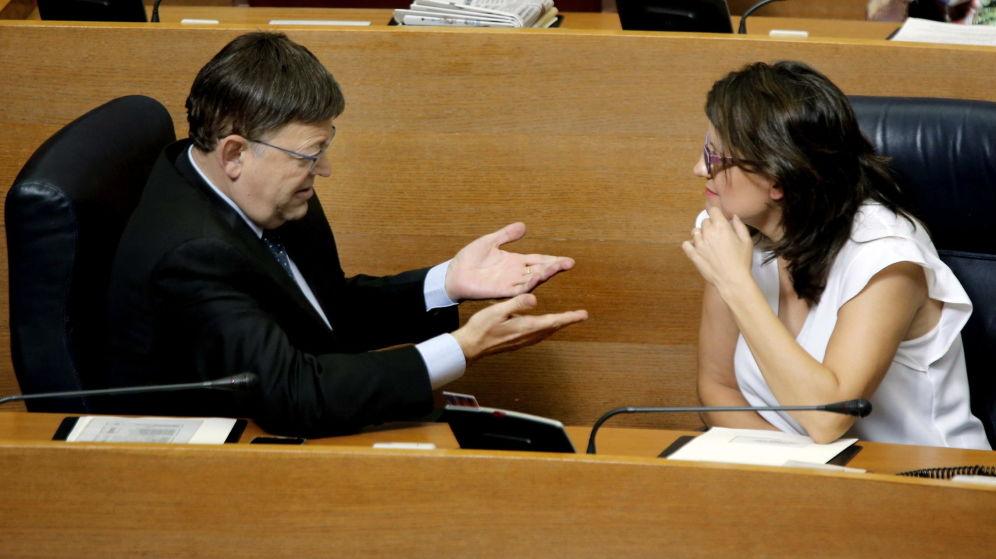 Puig y Oltra no rescatan personas: compran 124 sillones climatizados a 2.100 € la unidad
