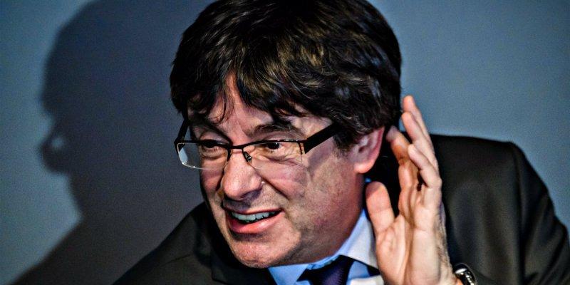 ¿Extraditar a Puigdemont solo por mangante? Que se quede en Alemania vagando con sus delirios y paranoias
