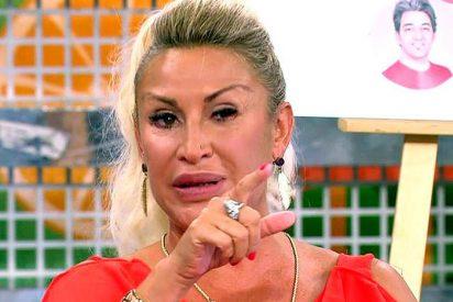 La encerrona en directo de 'Sálvame' a Raquel Mosquera